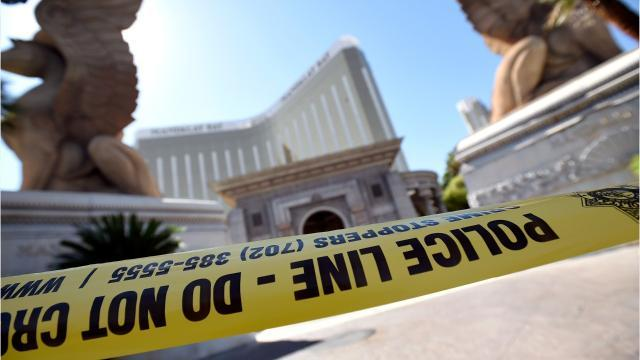 Vegas security guard describes moment shot