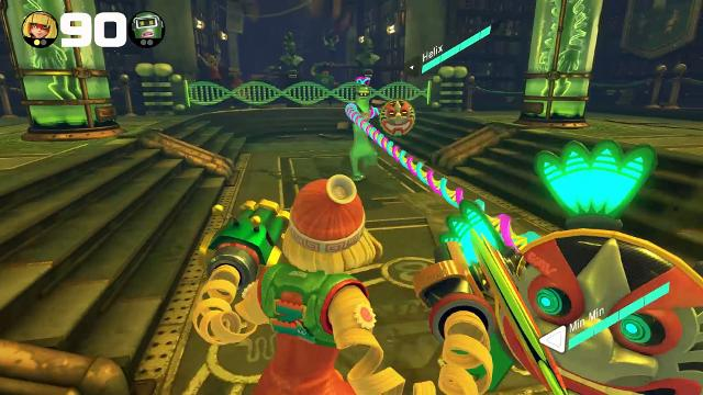 Review: ARMS punches way to Nintendo Switch | Technobubble (watch video)