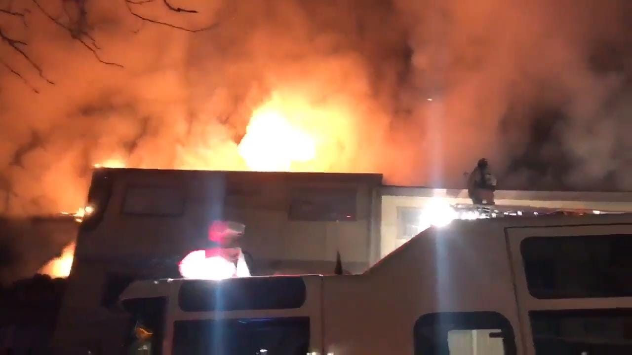 A fire at 1 a.m. killed two people in the Stardust Apartments on Stardust Street in old northwest Reno.