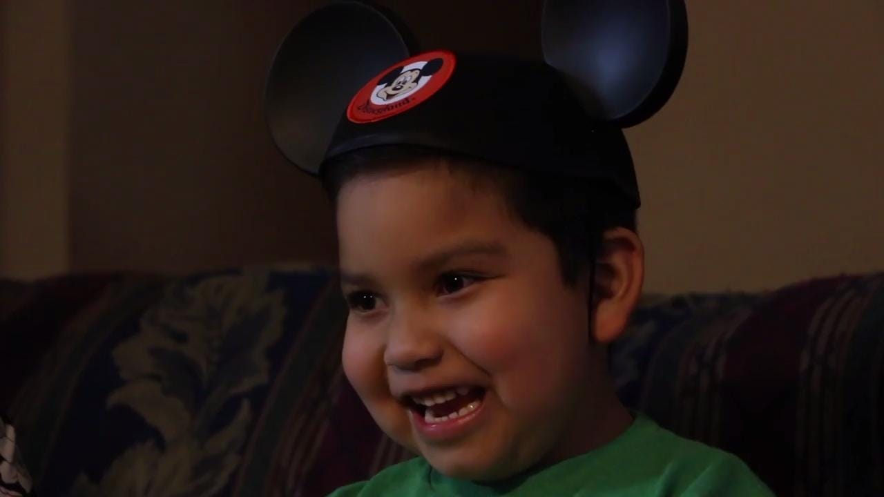 Leukemia survivor Joshua Velazquez granted a trip to Disney World by Make a Wish Foundation.