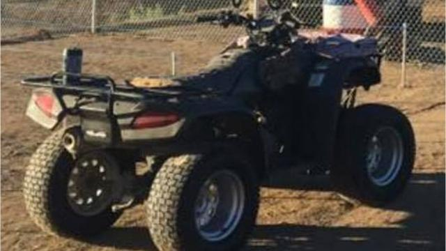 Between $7,500 and $10,000 worth of BMX equipment was stolen from Reno BattleBorn BMX Track in Sun Valley.