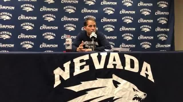 Nevada beat New Mexico, 77-74, to win its 12th straight home game despite nearly the entire team dealing with a sickness.