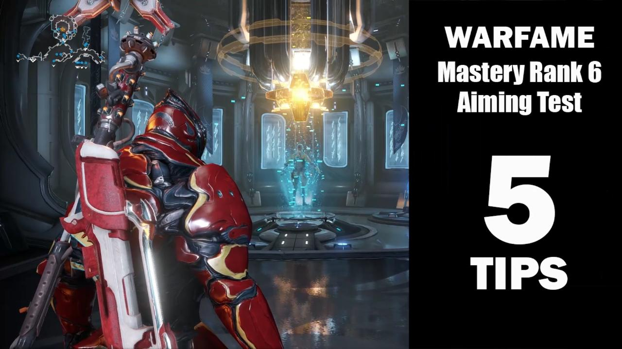 Need some pointers for easily passing Warframe's Mastery Rank 6 test? Here are five easy tips to help you zap those shifty little red orbs, even on a gamepad.