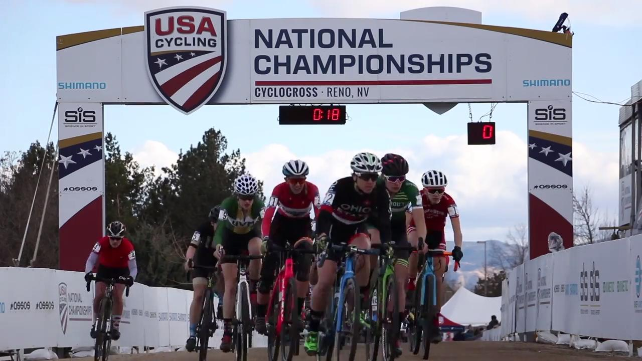 Reno is currently hosting the 2018 Cyclocross National Championships at Rancho San Rafael Regional Park.