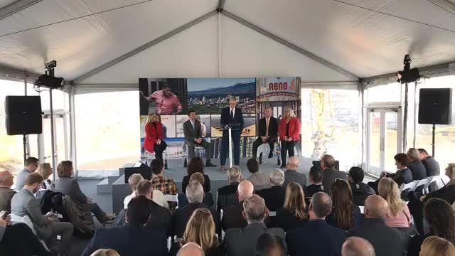 Watch Tim Cook speak at Apple facility groundbreaking in downtown Reno