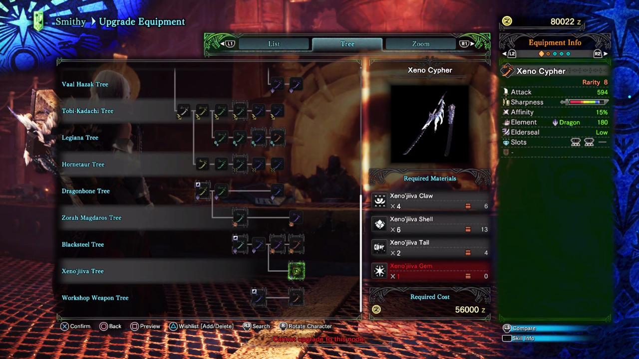 Mulling which weapons to craft in Monster Hunter World. Here's a look at all of the game's weapon trees by RGJ's resident Monster Hunter fan.