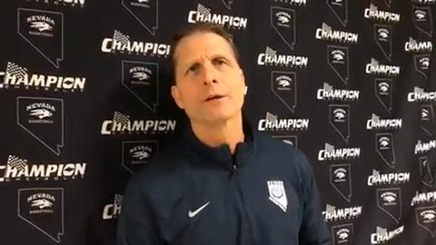 Wolf Pack coach Eric Musselman discusses his team's 76-67 win over Colorado State on Saturday night in Fort Collins.