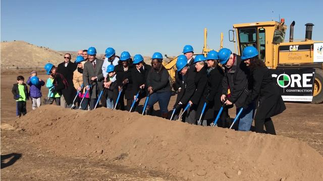 Construction has started on WCSD's three newest schools, which are expected to open their doors in August 2019.