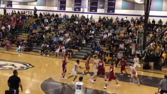 Bishop Manogue beat Reno, 61-48, in a boys Northern 4A Regional basketball semifinal