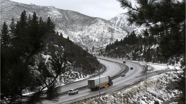 Reno and the Sierra Nevada mountains get hit with a series of snow storms as we move towards the end of February.
