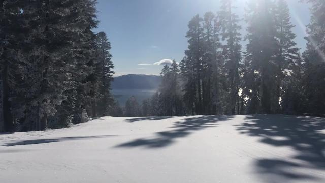 Monday's winter storm left more than 7 inches of new snow at Northstar, shown on Tuesday, Feb. 27, 2018. Even more is set to come on Thursday.