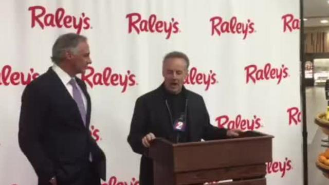 Raley's CEO Michael Teel discusses the company's Reno roots as it announces the purchase of six of eight remaining Scolari's stores.