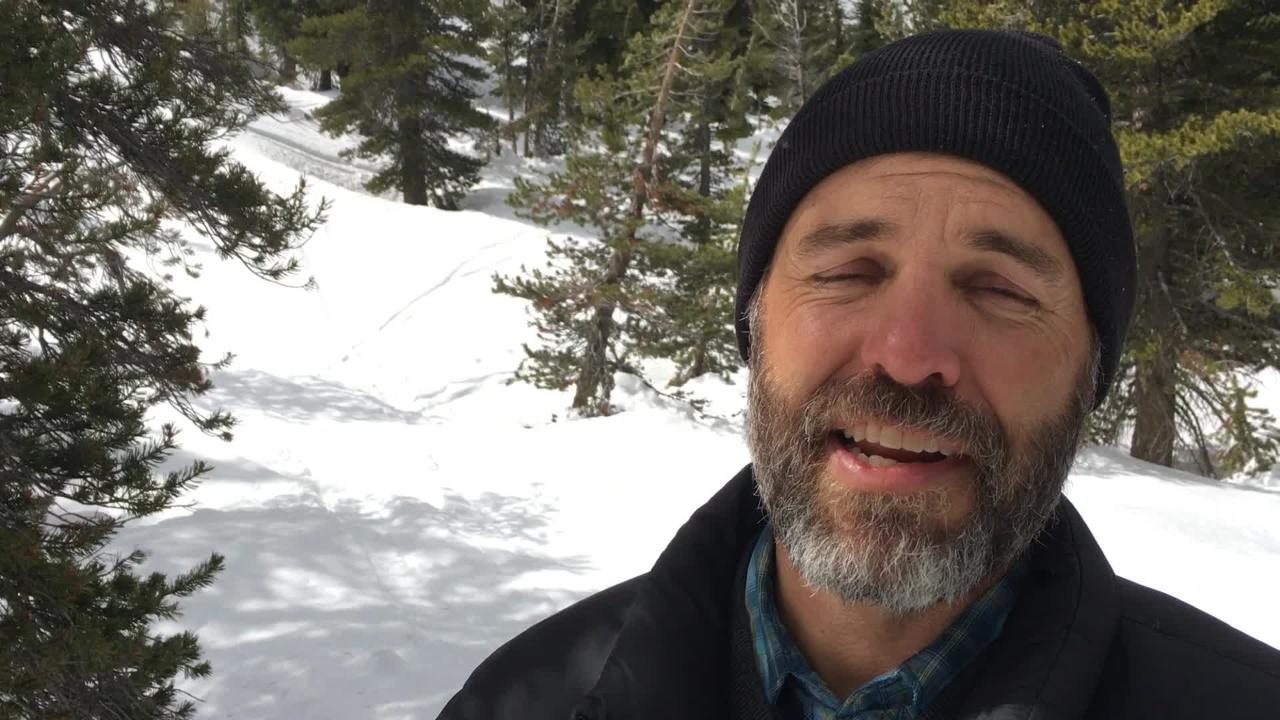 Chief Deputy Water Master Dave Wathen explains how a 43 percent increase in snowpack will help western Nevada endure coming summer months.