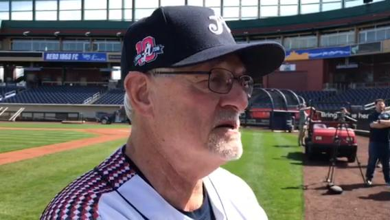 Reno Aces Manager Greg Gross