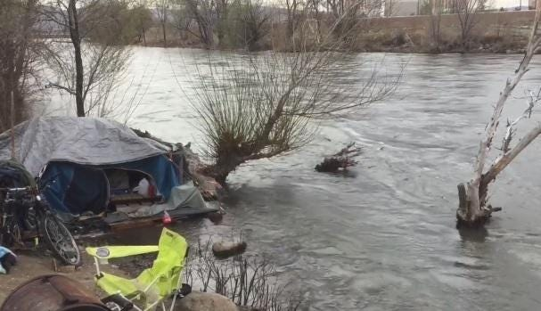 See the Truckee River levels in Reno on Thursday, April 5, 2018 before the next storm hits the region.