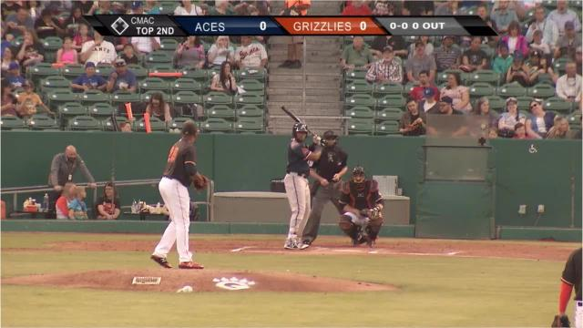 Big blasts? They're in here. An inside-the-park homer? We got one. Reinheimer's homer in Sacramento? Um ... ask the River Cats. Here's the supercut of Reno Aces home runs during the 2018 season.