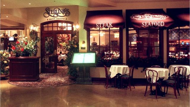 On Mother's Day, May 13, 2018, Sterling's in the Silver Legacy is offering the final seating of its longtime Sunday brunch buffet. In late 2018, the restaurant is scheduled to become a Ruth's Chris Steak House.