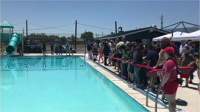 Traner Pool reopens in time for summer 2018