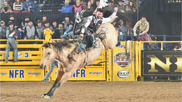 The Denny brothers, Grant and Wyatt, will compete in the Reno Rodeo on Tuesday and Wednesday in the bareback event.