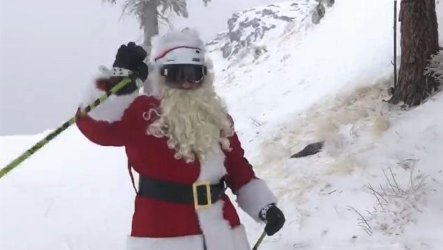 A Christmas Snow.Watch New Christmas Snow At Alpine Meadows