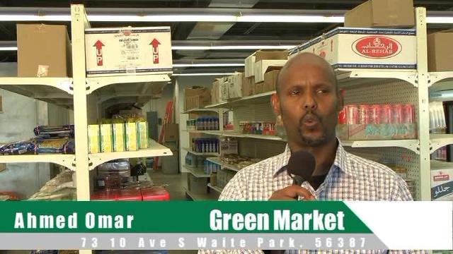 News for Somali Speakers: Green Market is a new store in Waite Park.