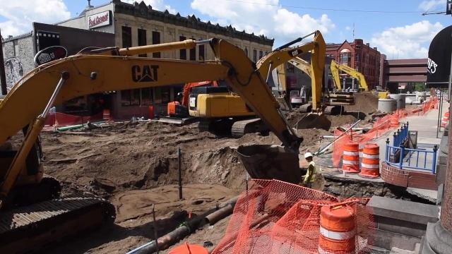 Fifth Avenue reconstruction project