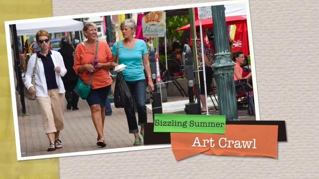 Sizzling Summer Art Crawl