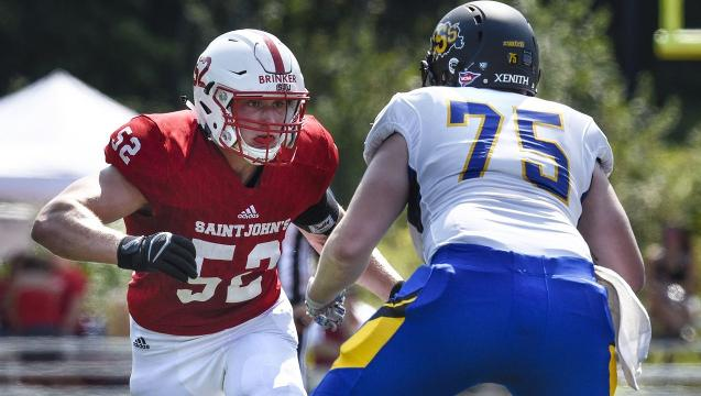 SJU's Brinker happy to he healthy