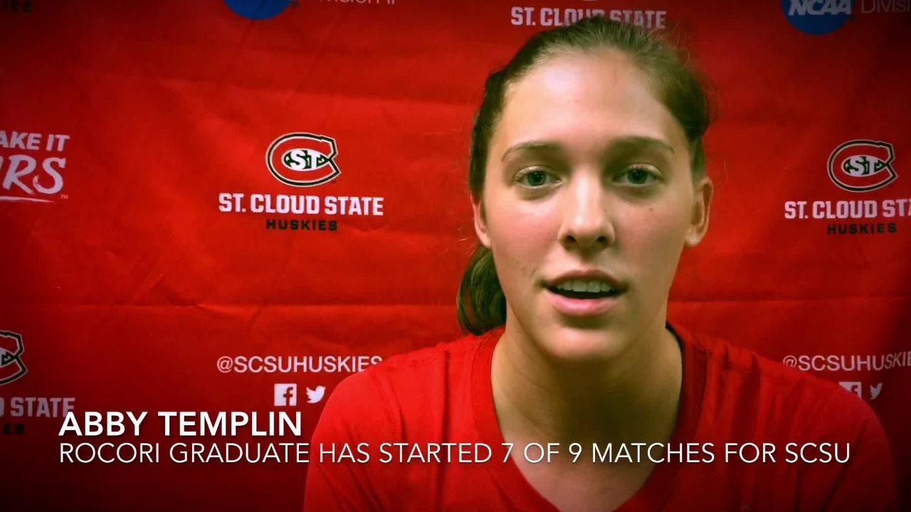 2 former Times All-Area volleyball players are finding roles at SCSU