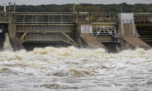 Mississippi flow 4 times over average for fall