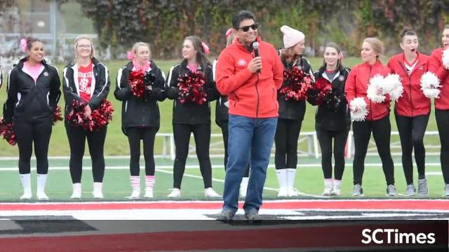 Homecoming announcement from St. Cloud State