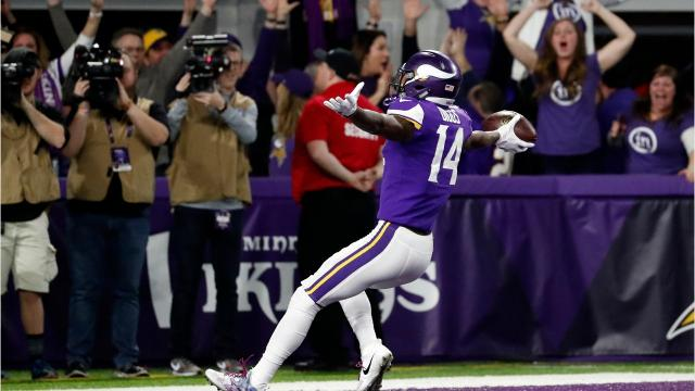 Spectacular End To Vikings Saints Game Boosts Fox Ratings On Sunday