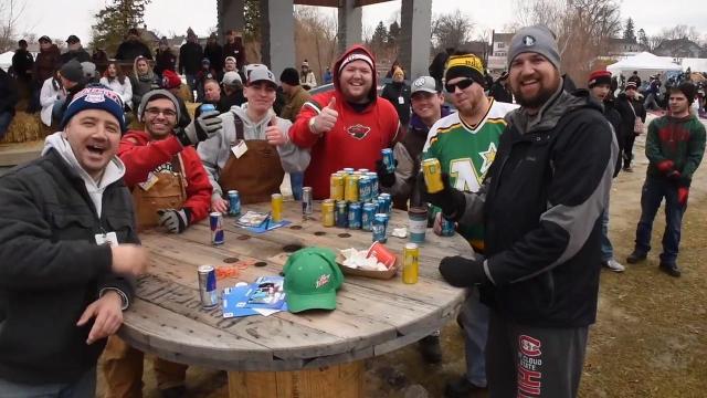 Hockey Day Minnesota Day 2