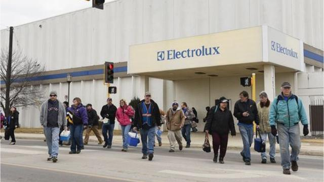 Electrolux will cease production at its St. Cloud facility, according to a press release Tuesday Jan. 30 from the company. Production is expected to continue through 2019.