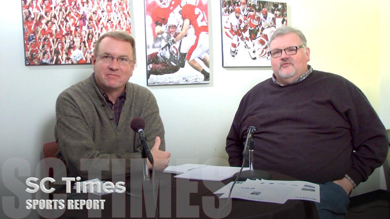 Tom Elliott and Dave Schwarz discuss dance team, hockey and wrestling.