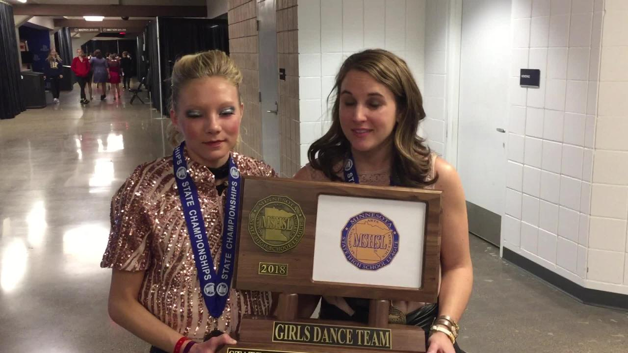 State dance: Sartell makes it a repeat