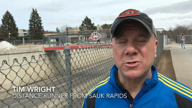 Tim Wright of Sauk Rapids has run the Earth Day Half Marathon more than 10 times. Wright describes what he enjoys about the St. Cloud race and why he will run in it again Saturday