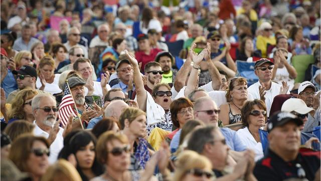 Twelve weeks, 12 rollicking outdoor concerts at Lake George. Who's playing? Take a look.