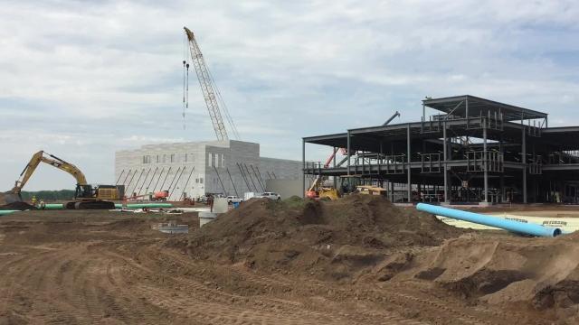 May 2018 Tech High School build update