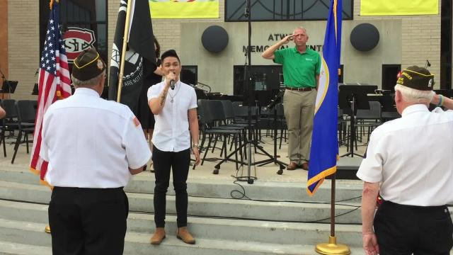 St. Cloud resident James Calacsan, 24, also earned a ROCK ON Award from St. Cloud Mayor Dave Kleis on June 21.