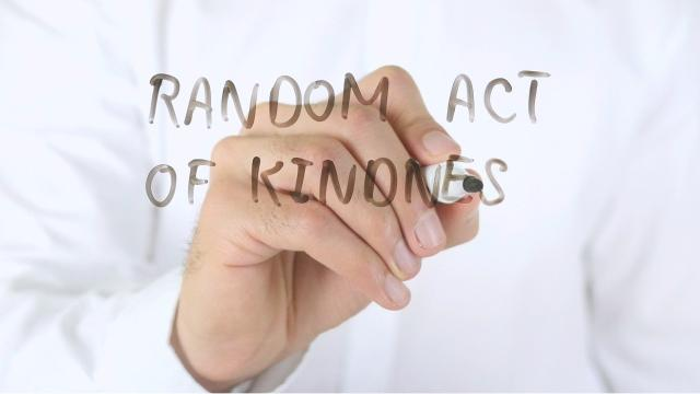 Research has shown acts of kindness improve a person's health. Kindness feeds into the idea of 'positive psychology.' It has been shown to improve your happiness and energy. It has also been shown to reduce pain, depression, anxiety, blood pressure and the negative impacts of stress.