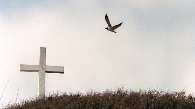 Pensacola Beach Cross