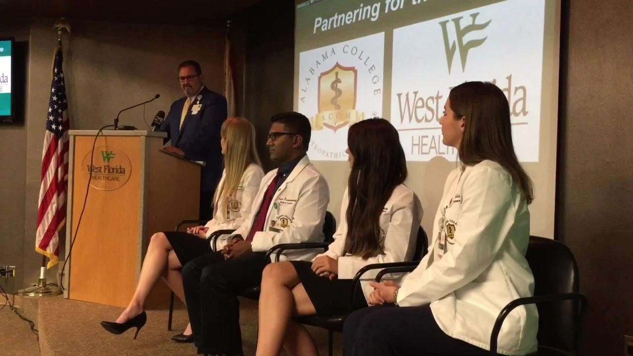 West Florida Healthcare introduces new partnership with ACOM