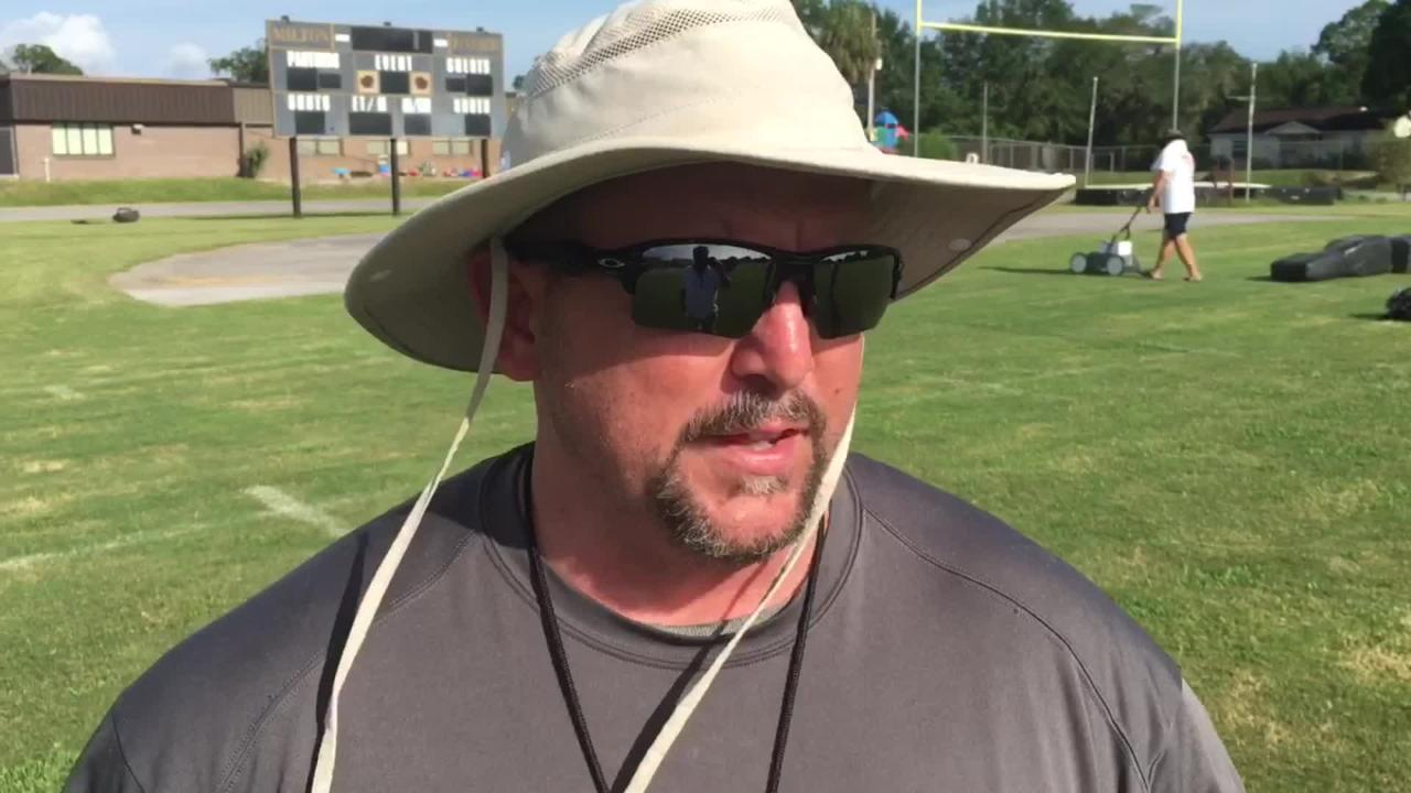 First year Milton HC Harry Lees talks the biggest challenge of year one for the Panthers.