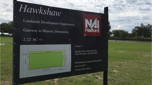 A selection committee has voted to accept a bid for a $35 million, three-story condominium and retail development for the Hawkshaw property in downtown Pensacola. (Joseph Baucum/jbaucum@pnj.com)