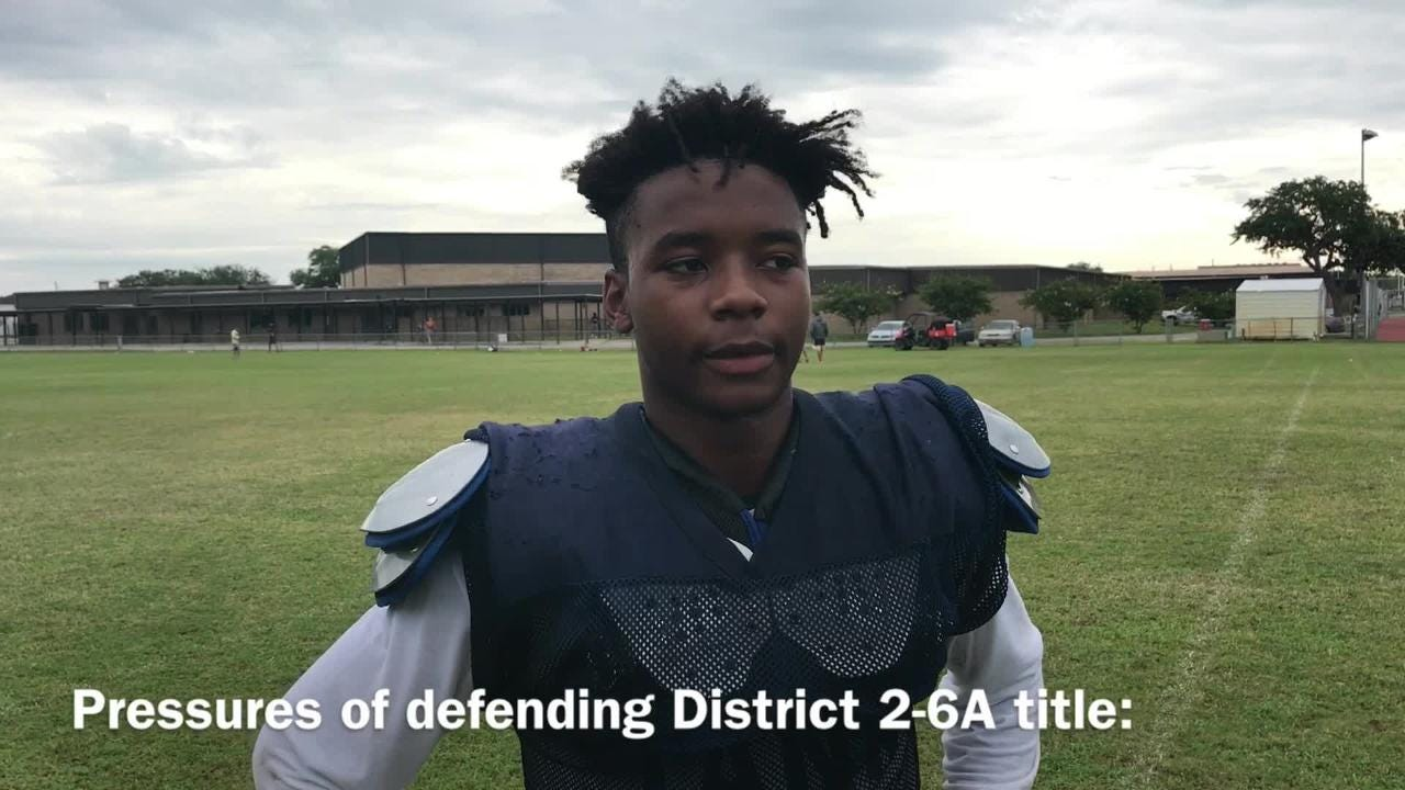 Walter Yates III - the area's defending champ in interceptions - talks about Gulf Breeze's upcoming season.