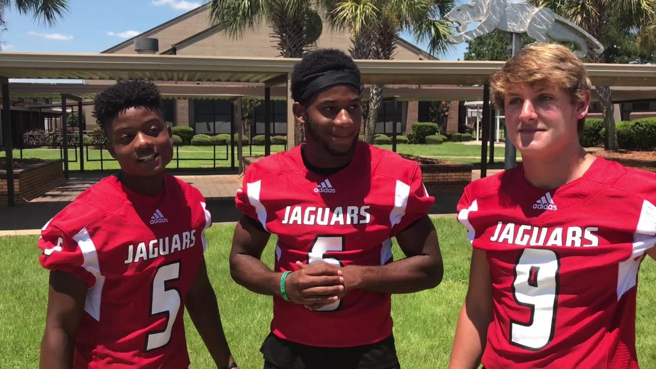 The Helton twins and Trevor Jordan are ready to lead the Jaguars this year.