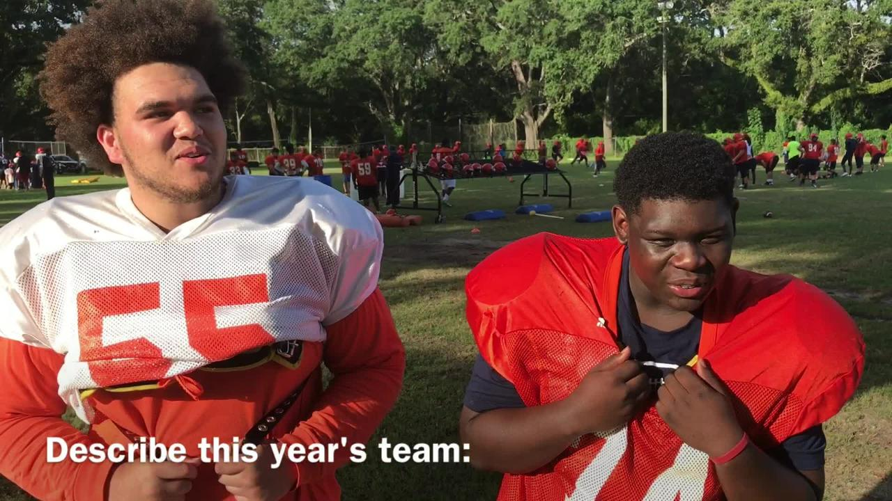 Escambia Gators Reggie Smith and Joe McCormick talk about the hype around EHS for this season .