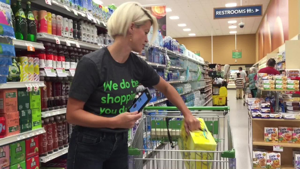 Personal shopper explains how Instacart works
