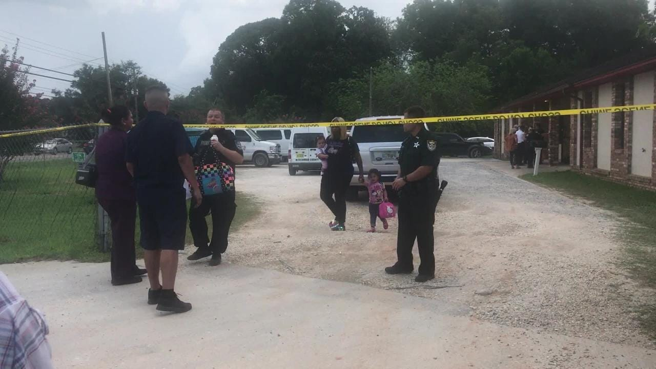 Raw video: ECSO at the scene of child death